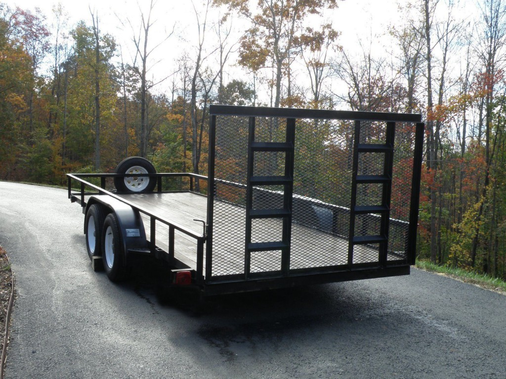 Flatbed Open Utility Trailers